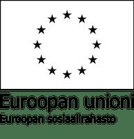 EU-lippulogo: Euroopan sosiaalirahaston tunnus